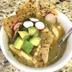 Relay Foods Chicken Verde Soup