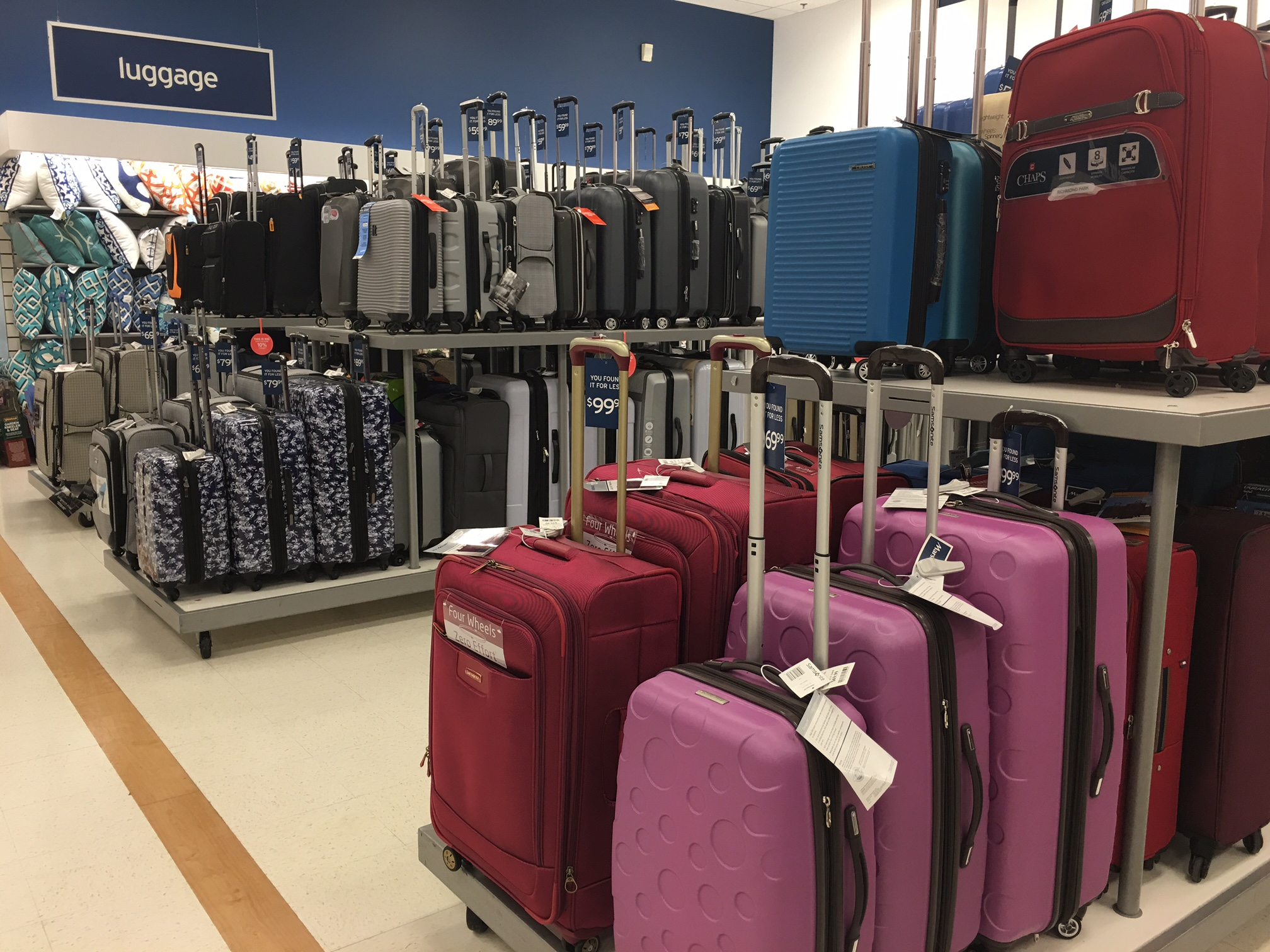 Marshalls Discount Store Has Deals on Luggage