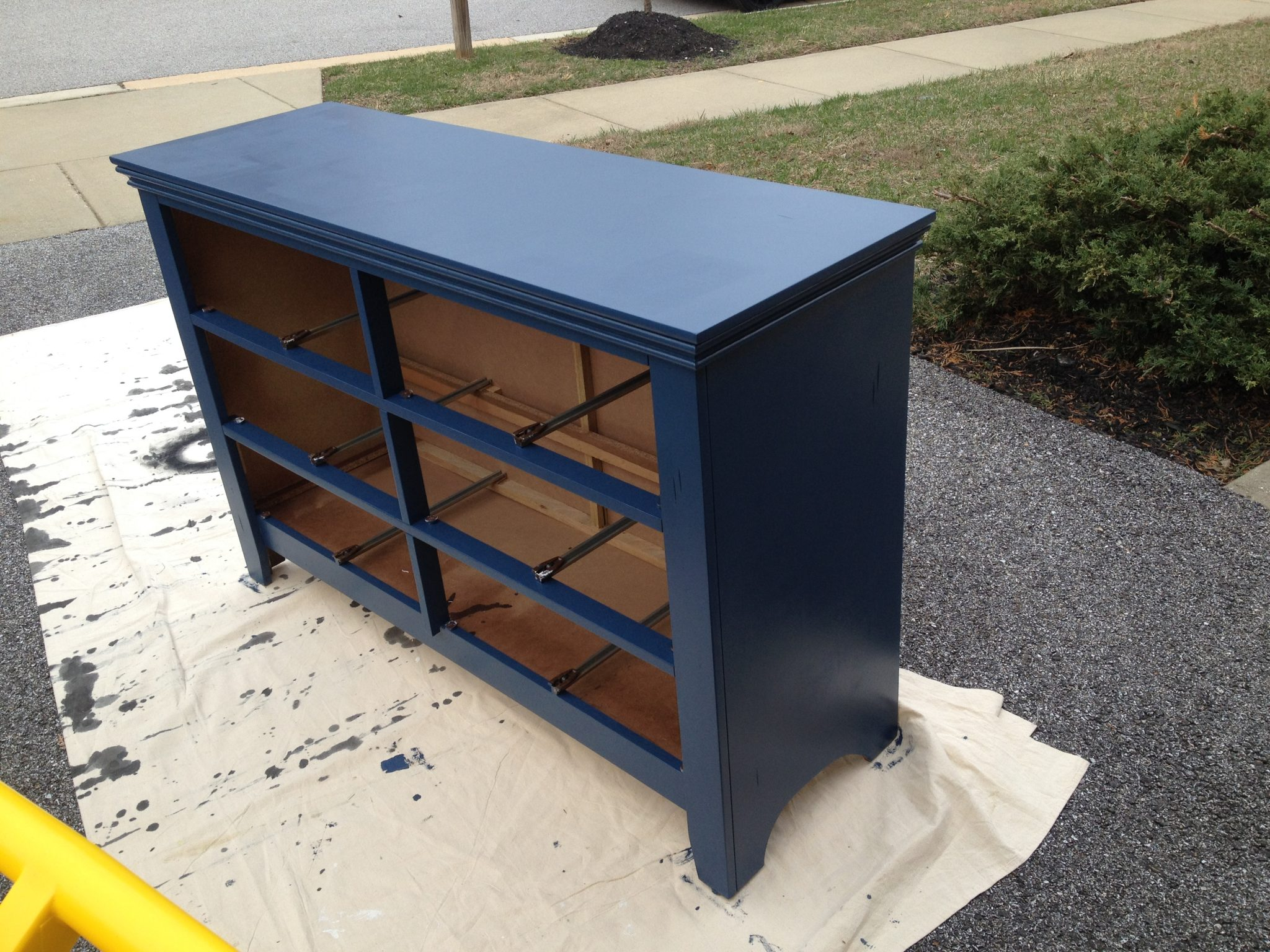 Dresser Painted in a Royal Blue