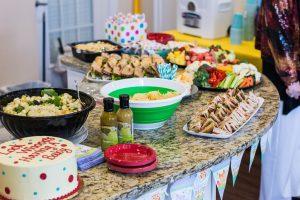 Baby Shower Wegman's Catering Food