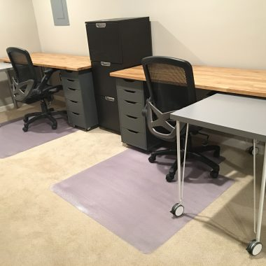 IKEA Hack Home Office Desk Complete