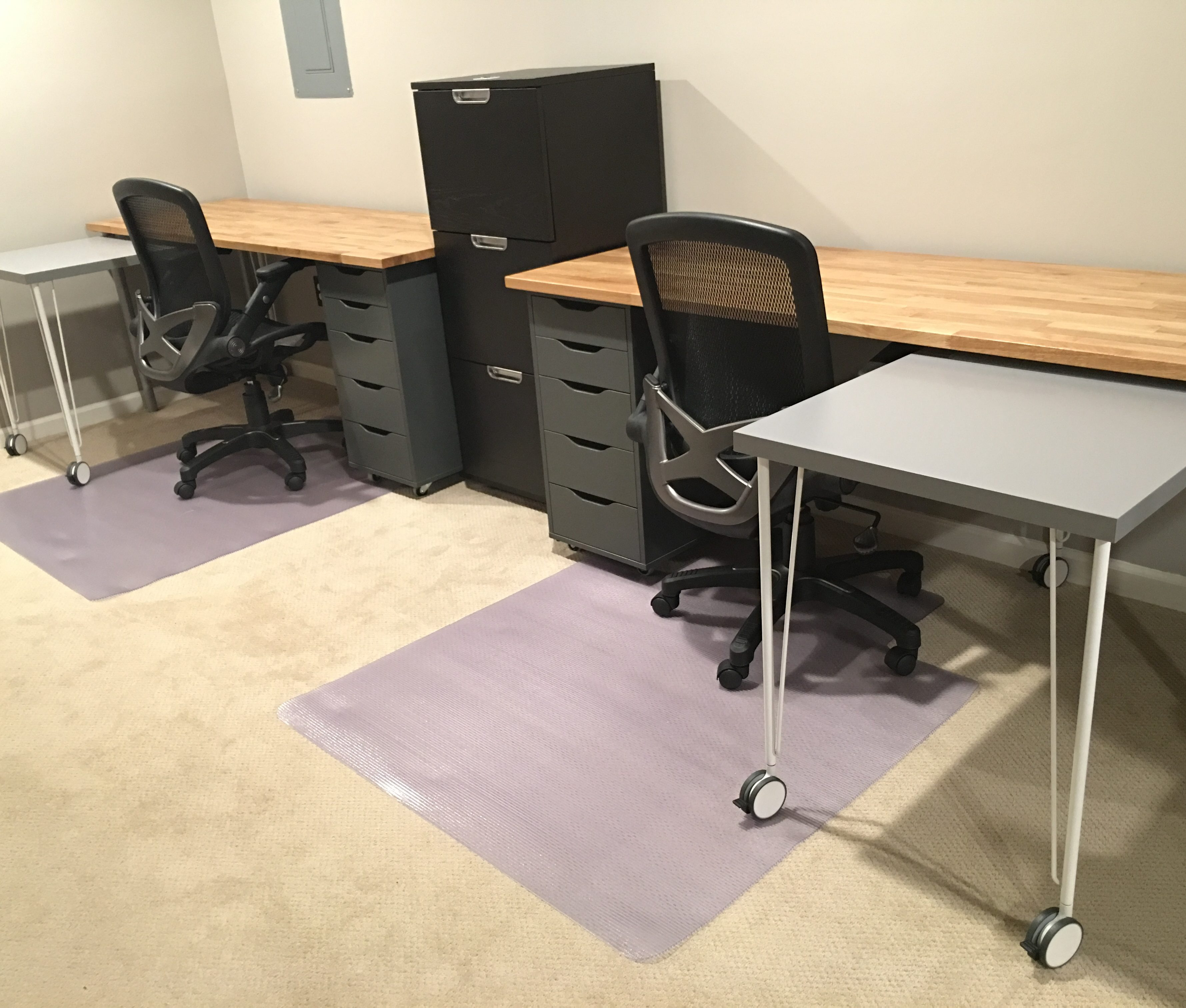 Ikea Hack Custom Transforming Home Office Desks Saving Amy