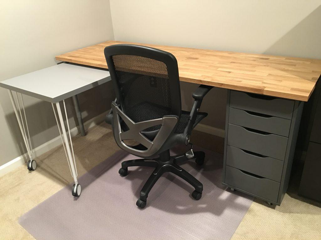 IKEA Hack Home Office Desk