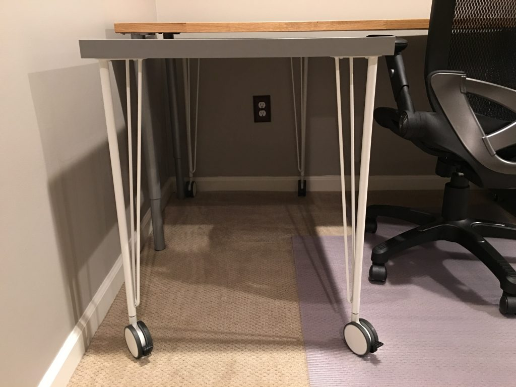 IKEA Hack Home Office Desks