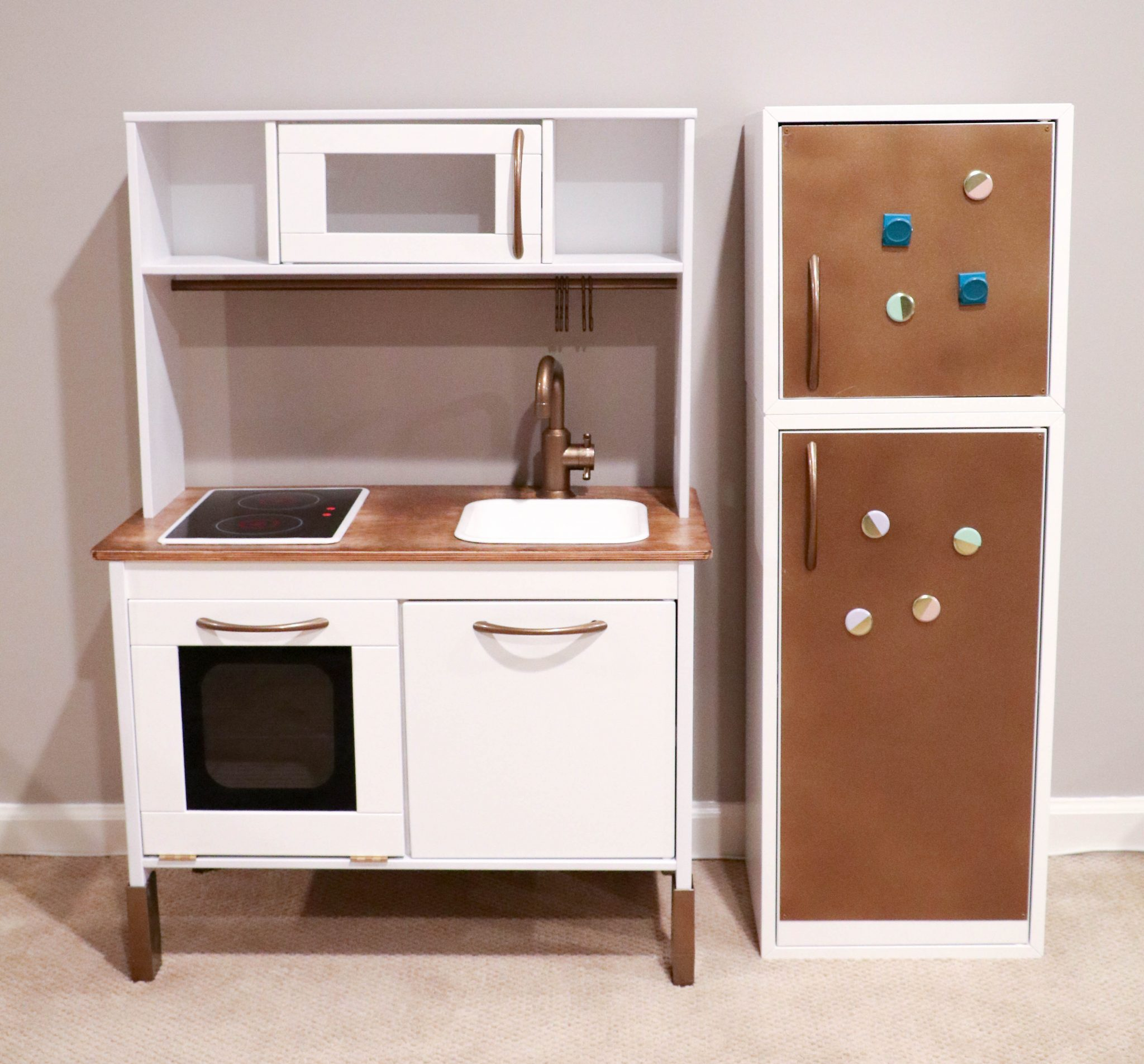 ikea hack building your child 39 s dream duktig play kitchen saving amy. Black Bedroom Furniture Sets. Home Design Ideas