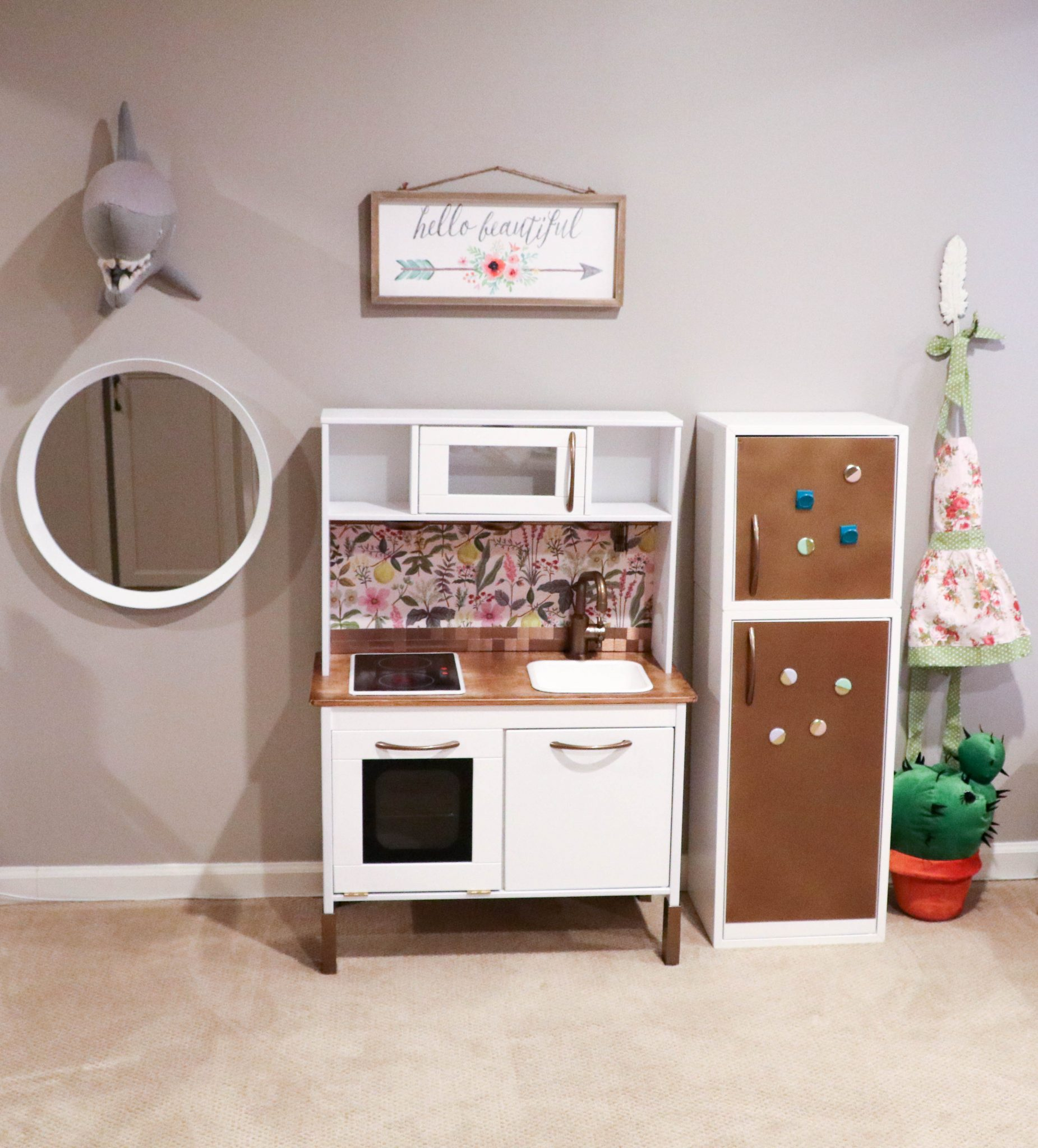 IKEA Hack: Building Your Child's Dream DUKTIG Play Kitchen