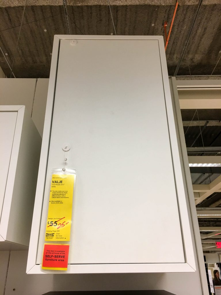 IKEA VALJE Last Chance Item