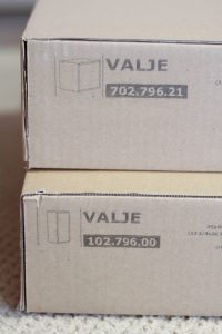 IKEA Hack Refrigerator Parts, VALJE