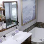 After: Master Bathroom