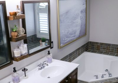 After: Master Bathroom