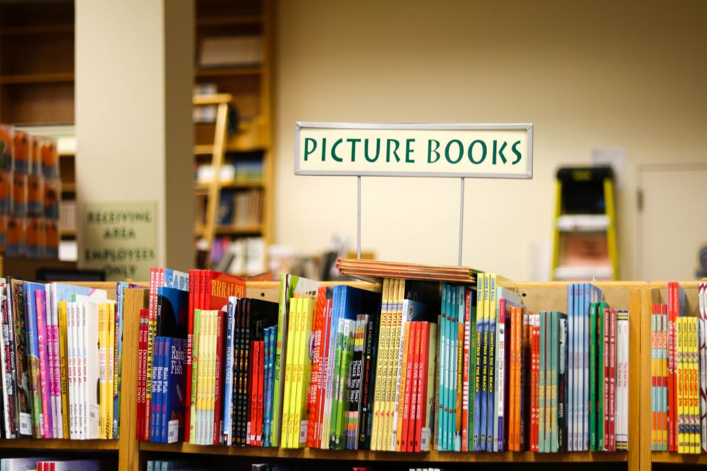 Picture Books in the Children's Book Section at Daedalus Book Warehouse