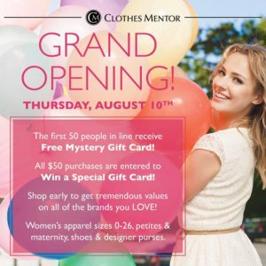 Clothes Mentor Columbia Maryland Grand Opening August 2017