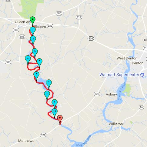 Tuckahoe Creek Route