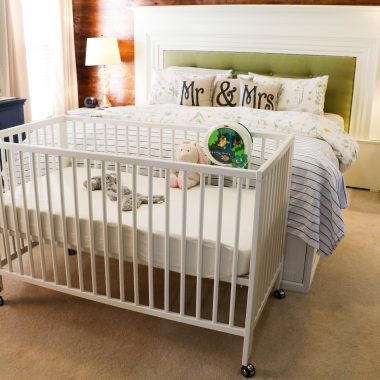 IKEA GULLIVER Crib on Wheels