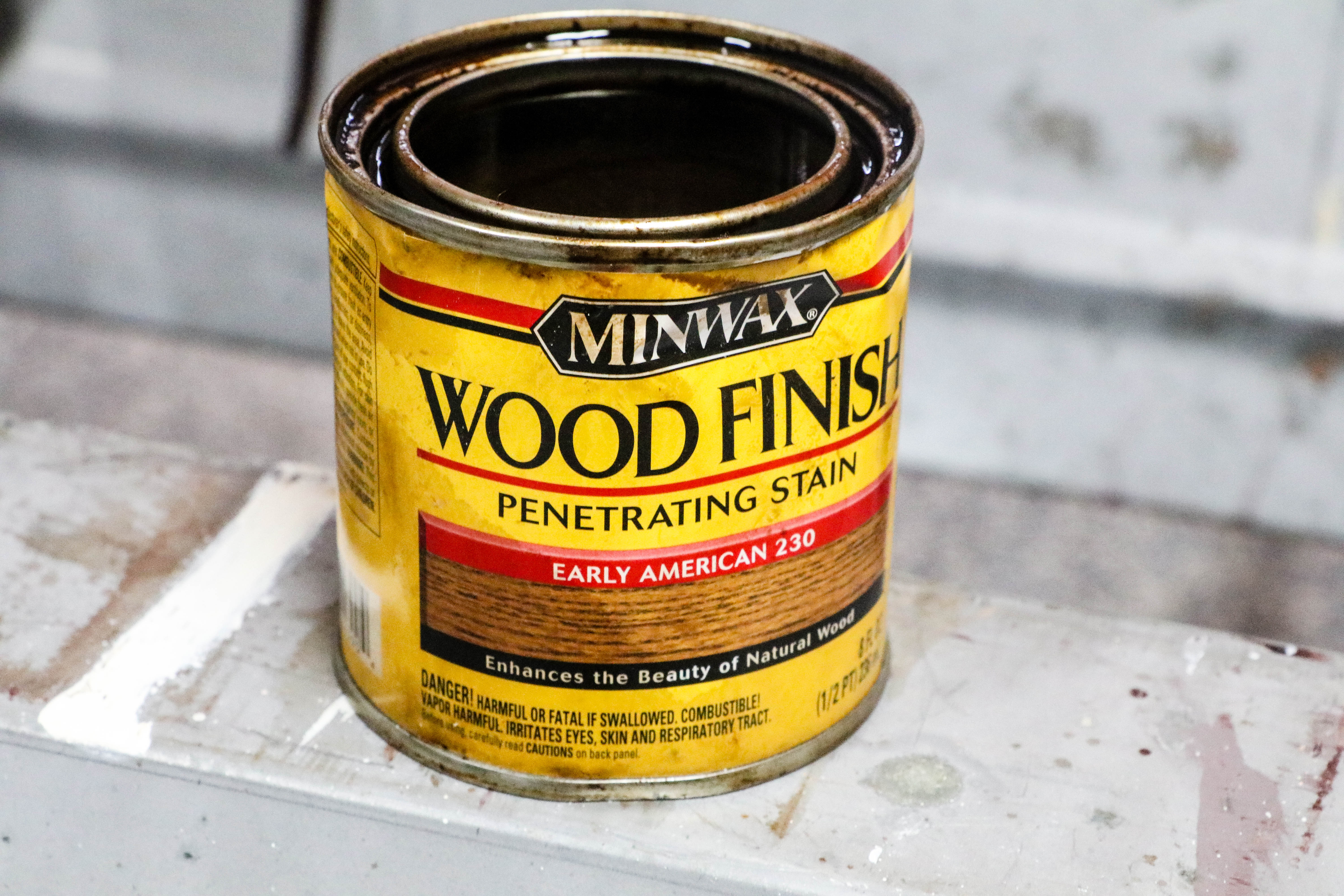 Minwax Wood Stain Early American Color