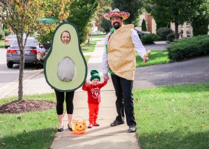 Avocado Maternity Halloween Costume
