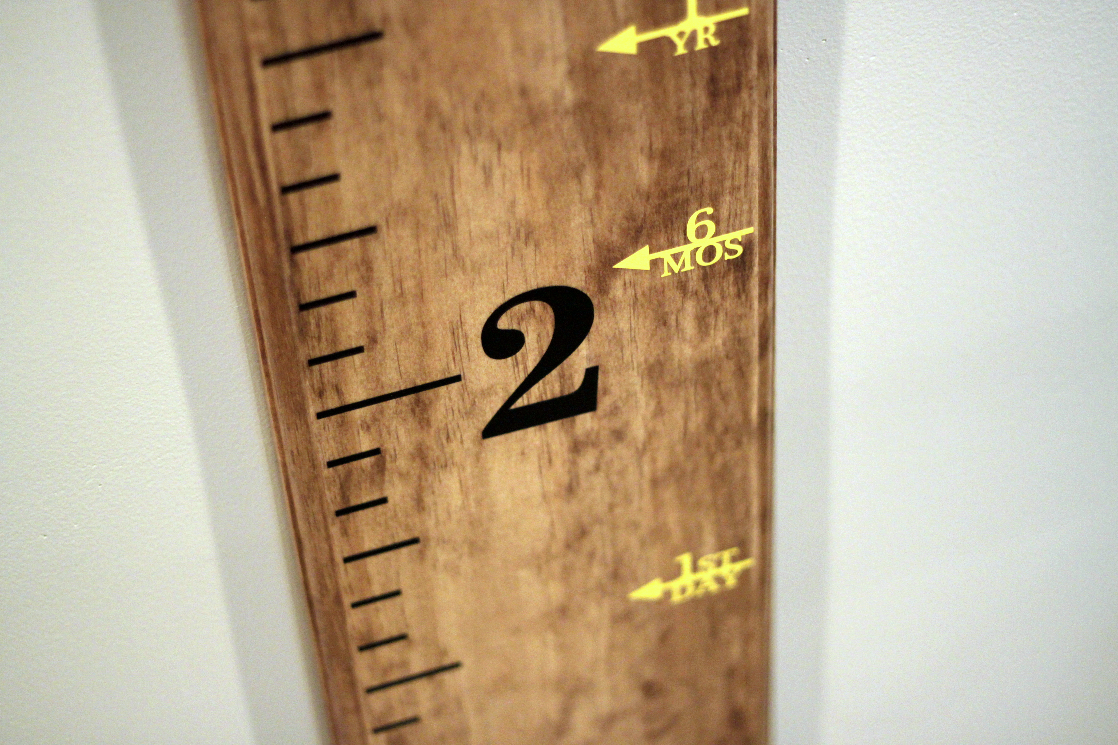 Etsy Order Diy Project Creating Our Family S Mobile Growth Chart
