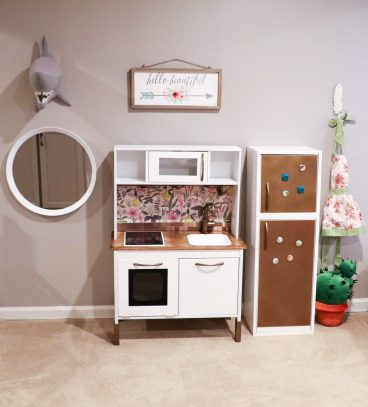 IKEA Hack: Building Your Child's Dream DUKTIG Play Kitchen - Saving Amy