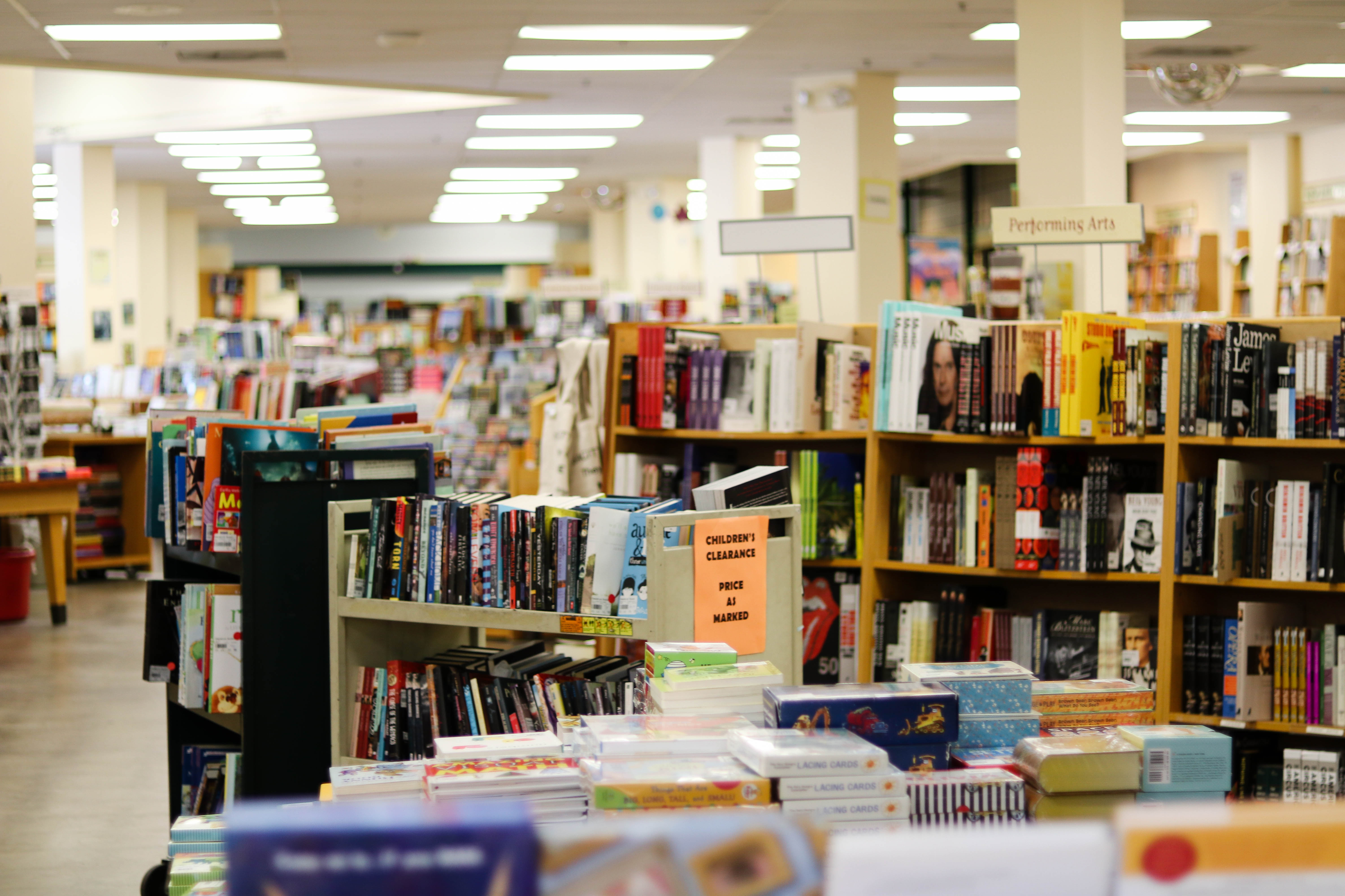 Visit Daedalus Book Warehouse For Gift Savings Closed