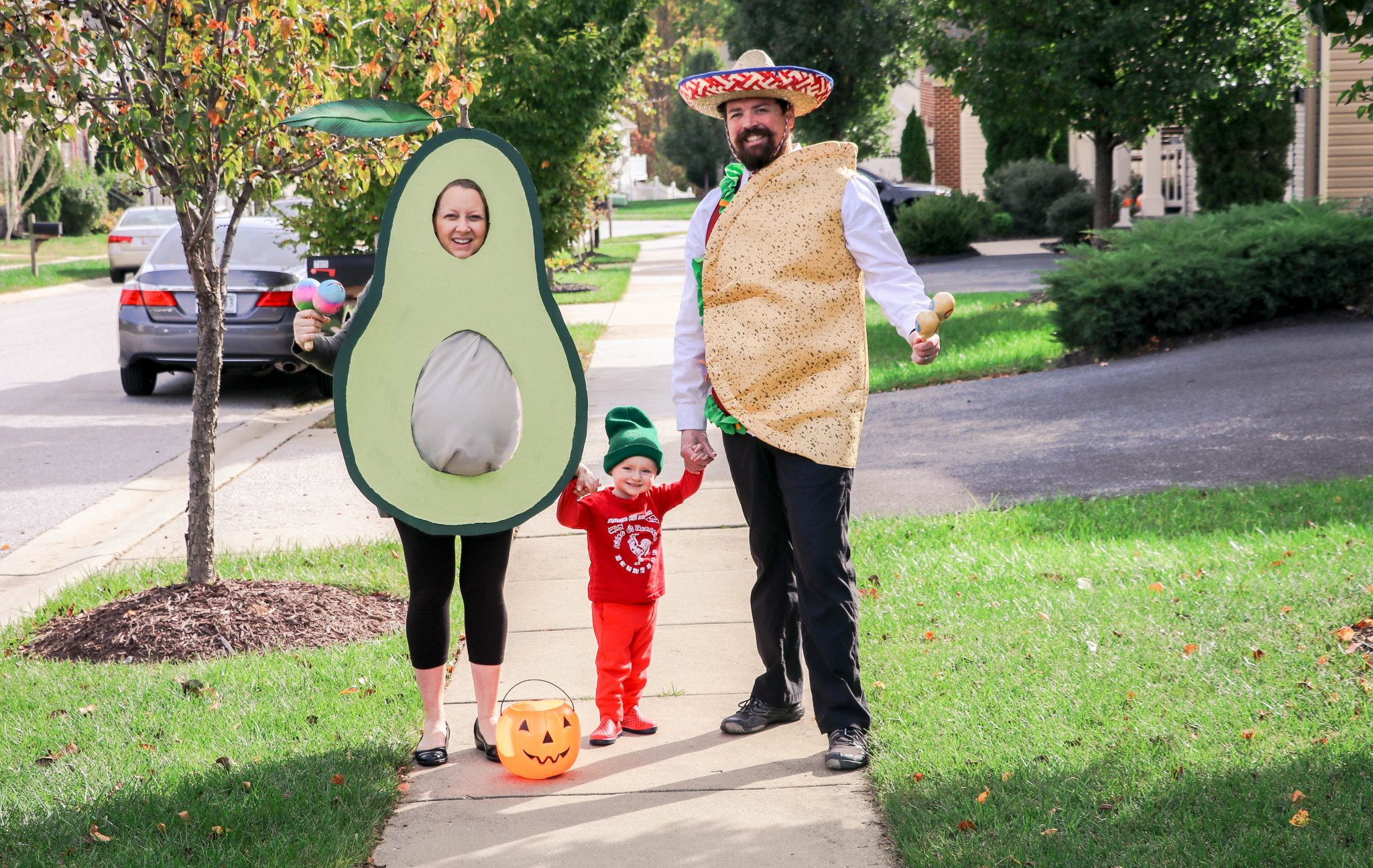 Diy avocado maternity halloween costume saving amy avocado maternity halloween costume solutioingenieria Image collections
