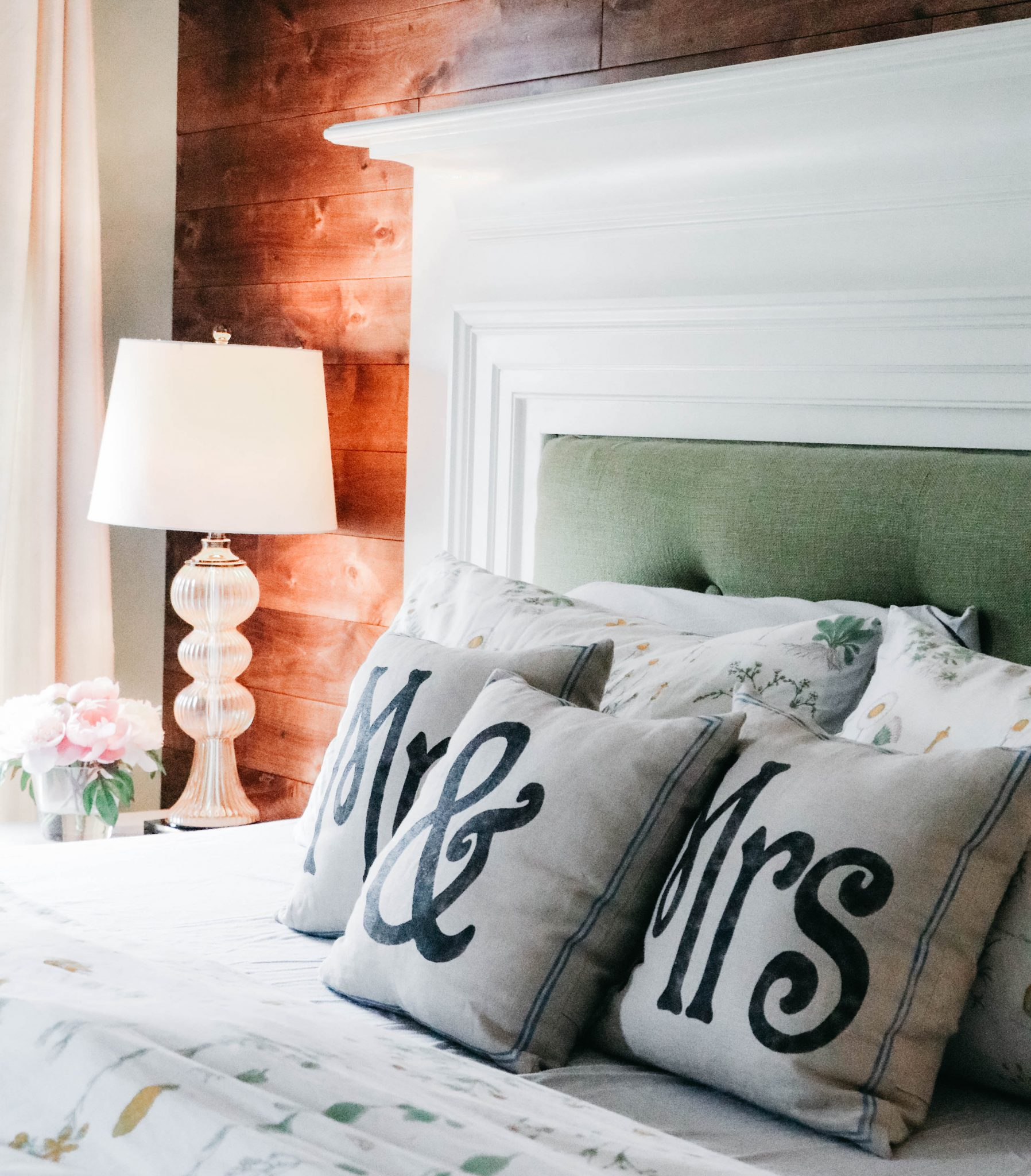 Master Bedroom Retreat Part 6 Diy Tufted Headboard Accent